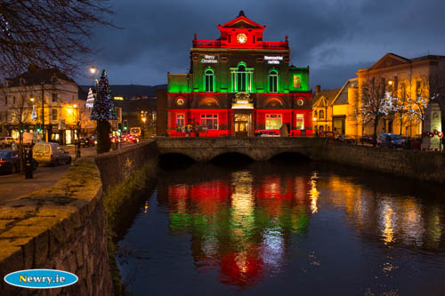 Newry Town Hall. Photograph: Columba O'Hare