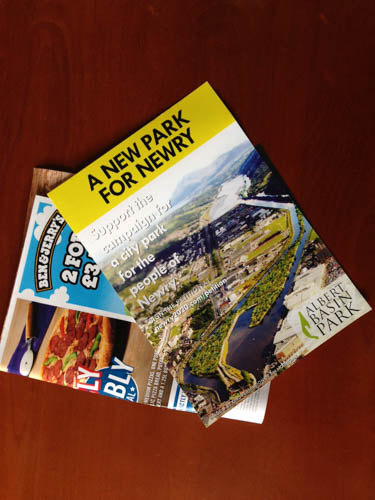 The Albert Basin Park Project Leaflet